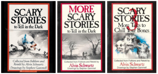 scary stories book series